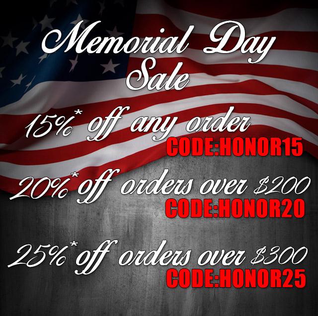 Memorial Day Trifecta Sale
