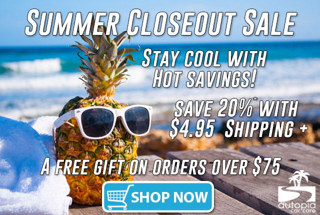 Summer Sale - 20%* Off & $4.95 Flat Rate Shipping