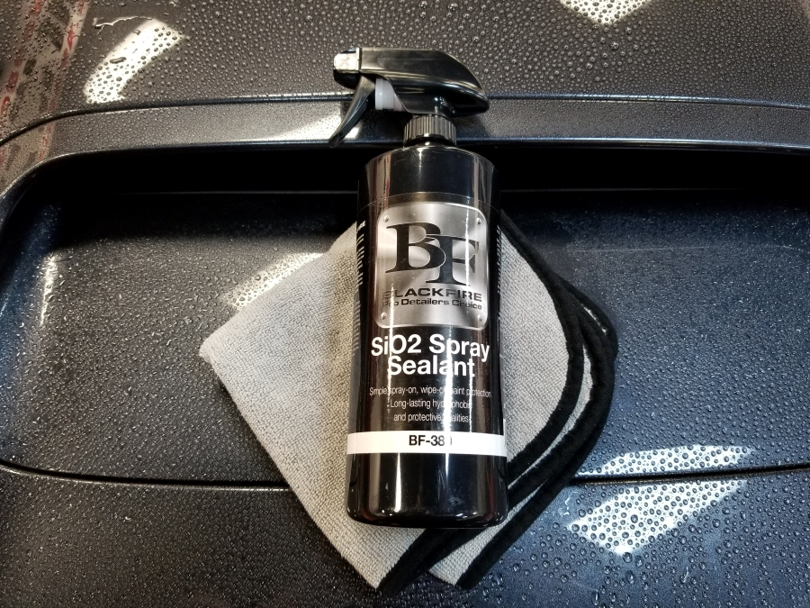 BLACKFIRE SiO2 Spray Sealant