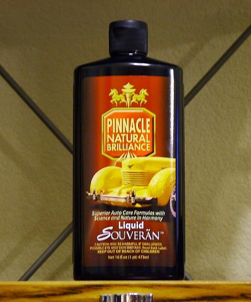 Pinnacle Liquid Souveran Car Wax Review