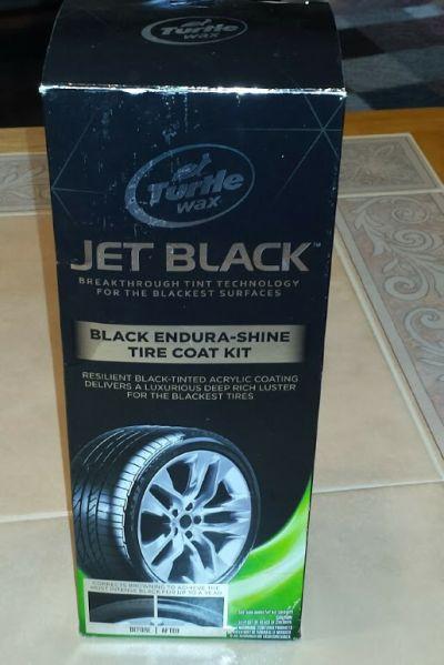 turtle wax jet black instructions